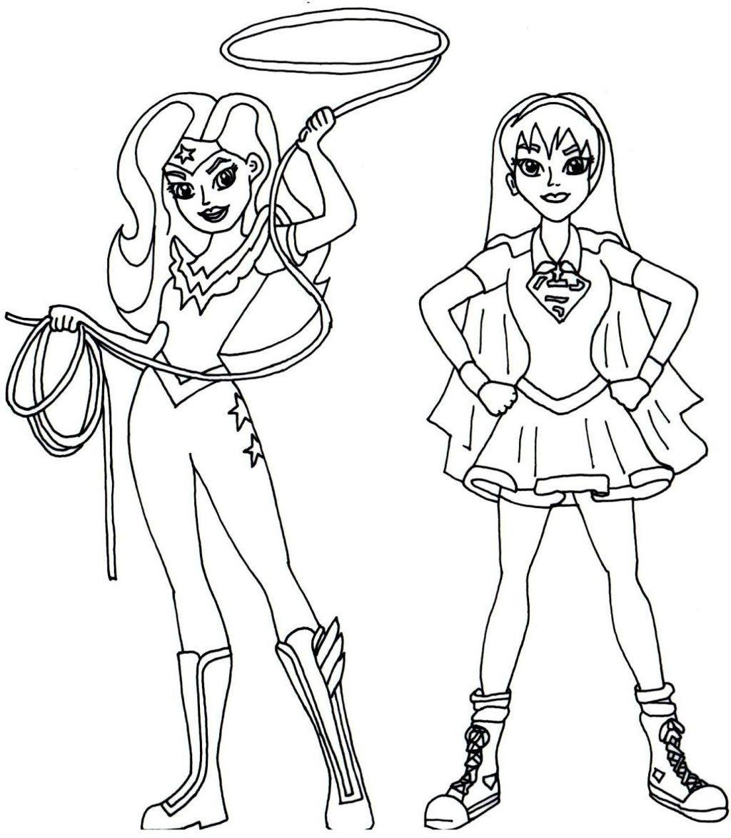 - Free Superhero Coloring Pages Coloring Pages Girl Superheroring