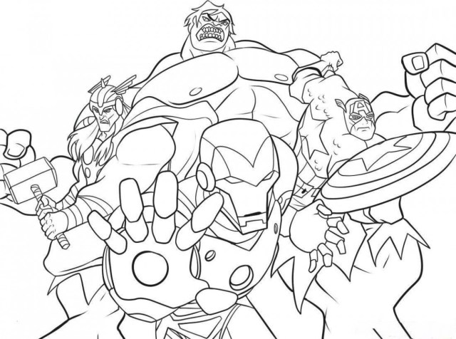 Free Superhero Coloring Pages Free Printable Marvel Superhero Coloring Pages 35 Marvel