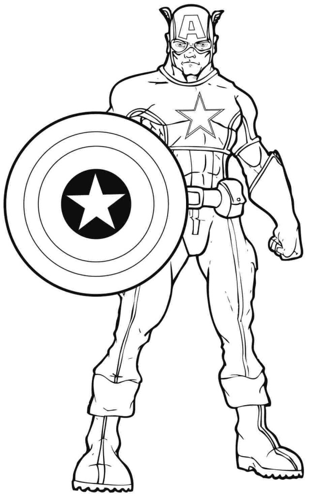 Free Superhero Coloring Pages Marvel Superhero Coloring Pages Printable Free Page Wolverine For