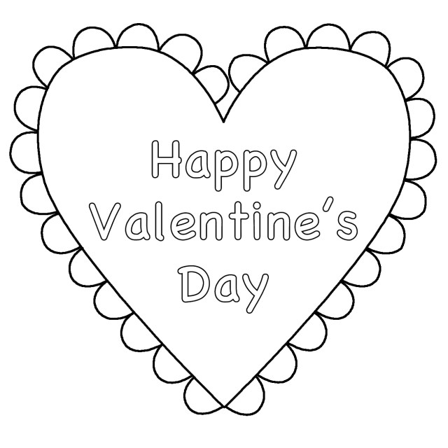 Free Valentines Day Coloring Pages Free Coloring Pages For Valentines Day To Print At Getdrawings