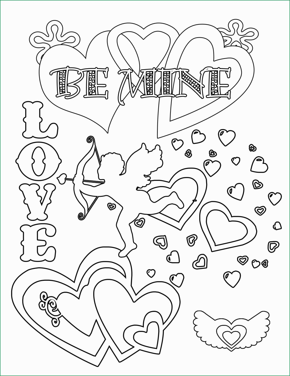 Free Printable Valentine's Day Coloring Pages - Crafty Morning | 1200x927