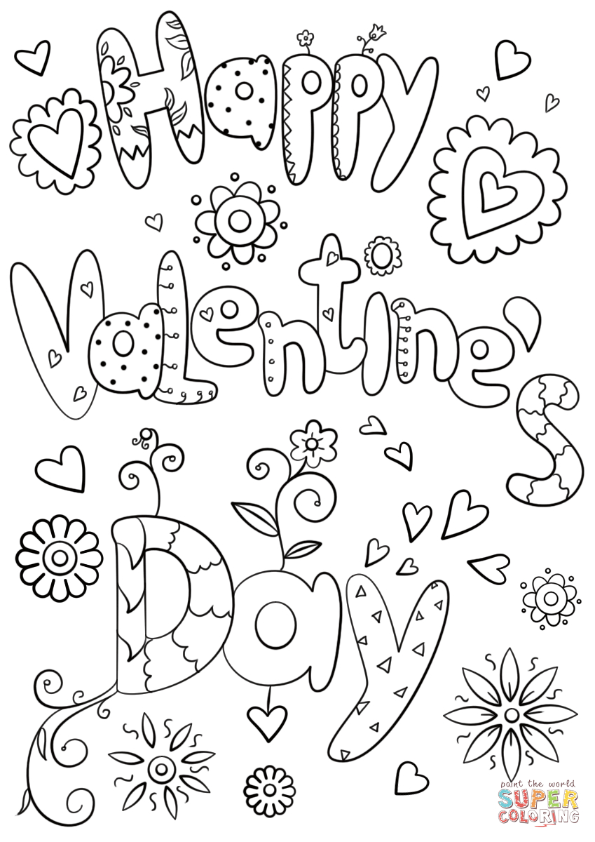 - 25+ Exclusive Picture Of Free Valentines Day Coloring Pages
