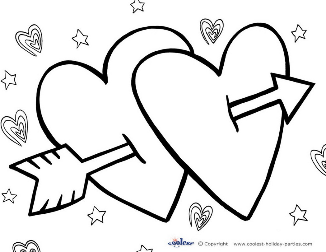 photo relating to Valentines Day Coloring Pages Free Printable known as No cost Valentines Working day Coloring Web pages Valentine Working day Printable