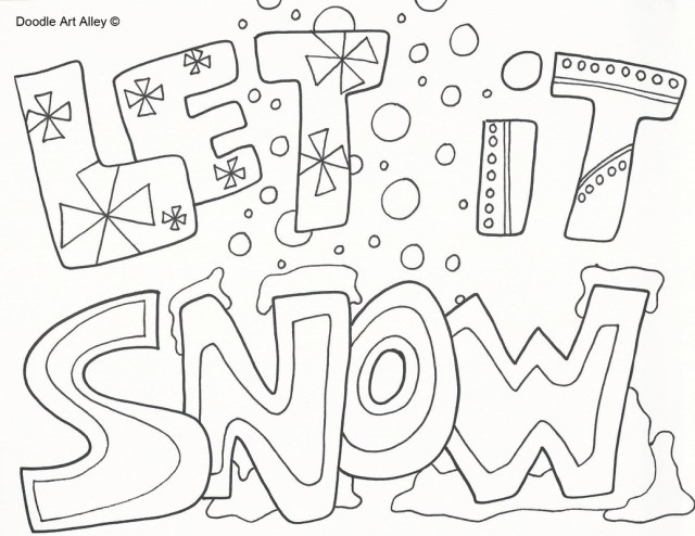 Free Winter Coloring Pages Coloring Page Free Winter Coloring Pages