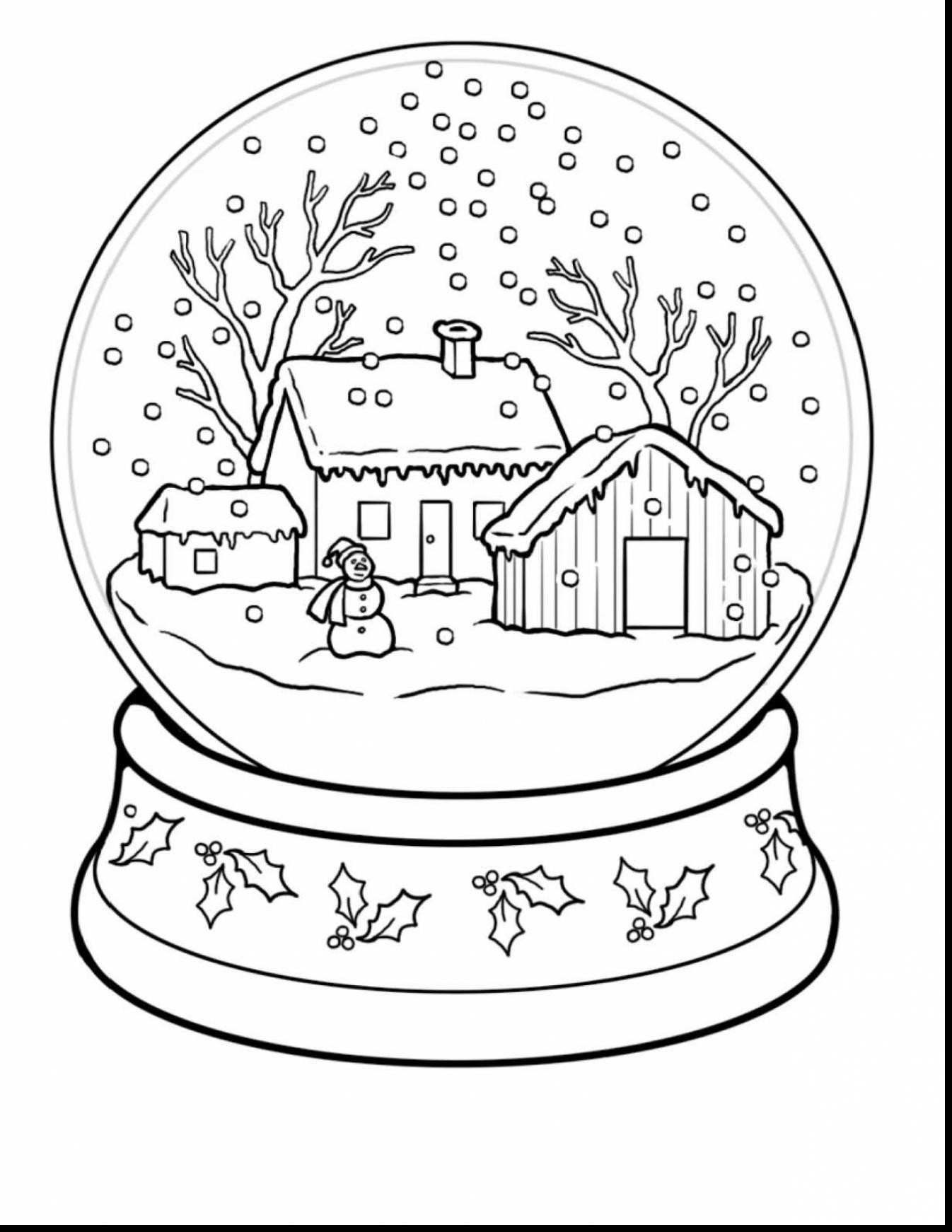 - 25+ Creative Photo Of Free Winter Coloring Pages - Birijus.com