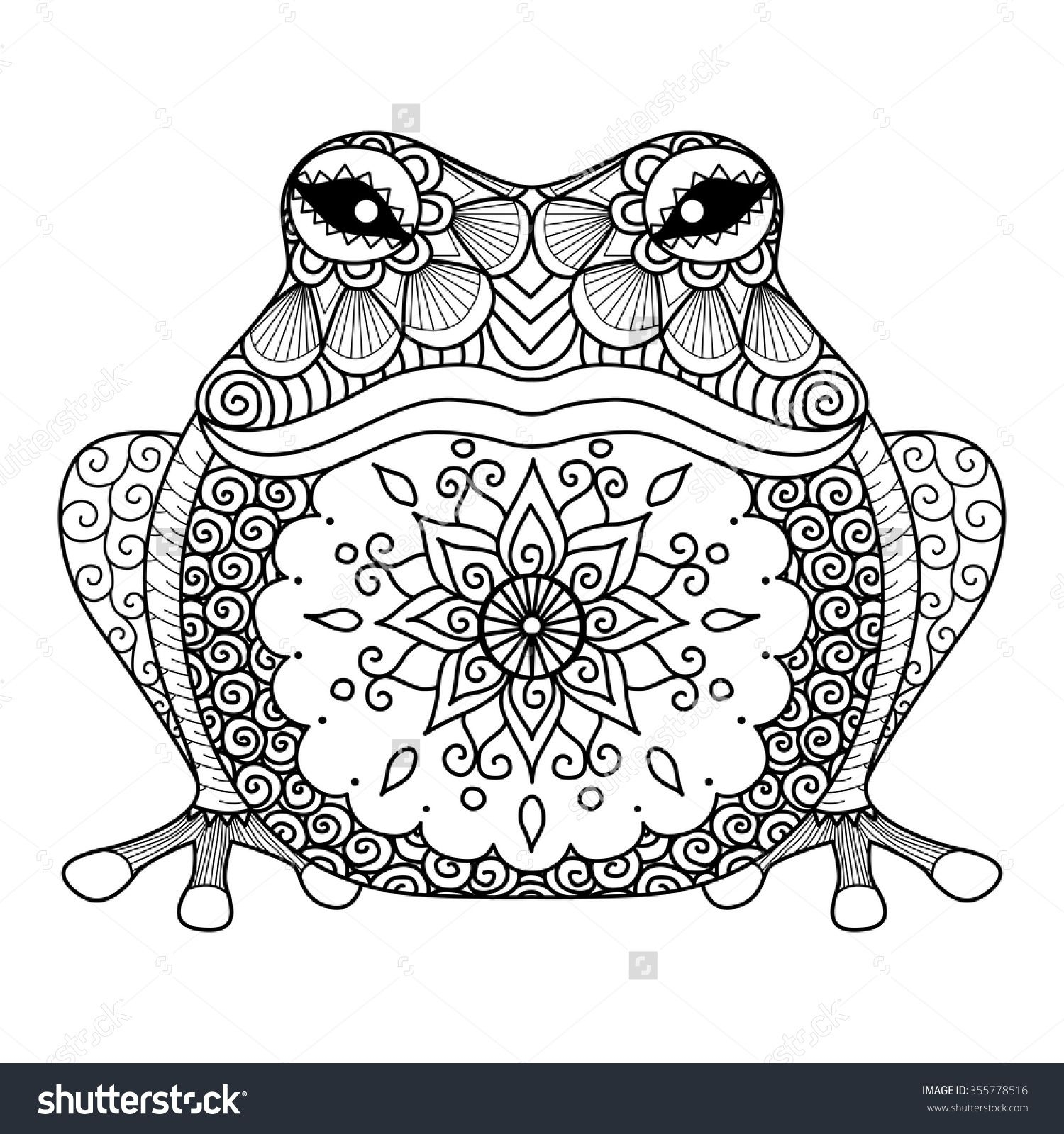 graphic relating to Frog Printable identified as Frog Coloring Website page Frog Coloring Web pages In direction of Print Printable