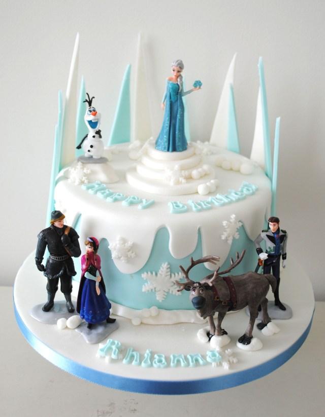 Frozen Birthday Cake Ideas Frozen Birthday Cake Google Search Ba Ives Pinte