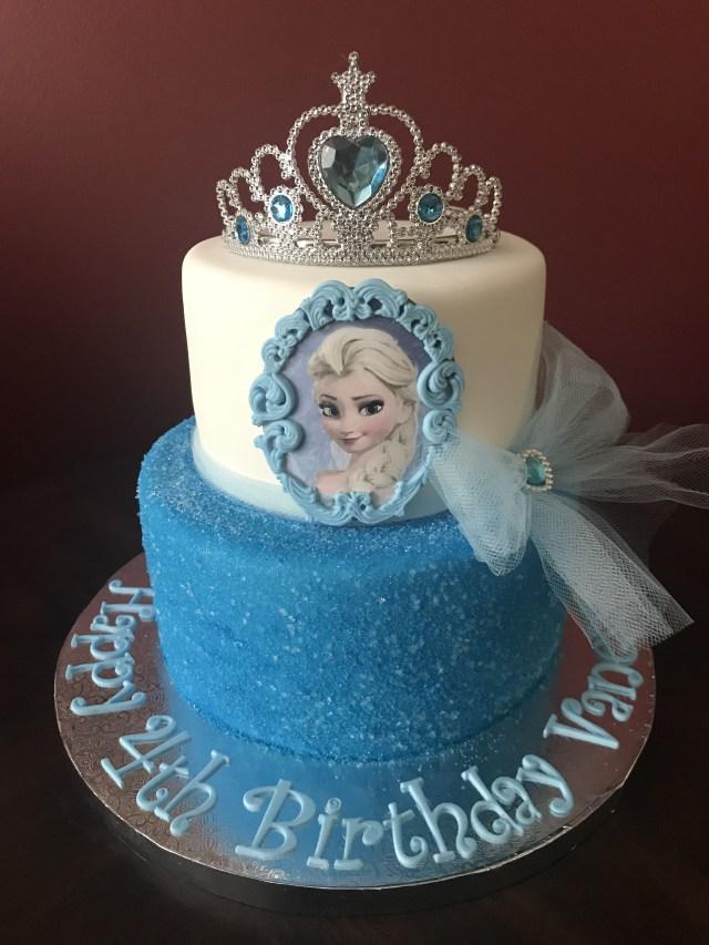 Frozen Birthday Cake Ideas Frozen Elsa Birthday Cake Birthday Cakes In 2019 Pinterest