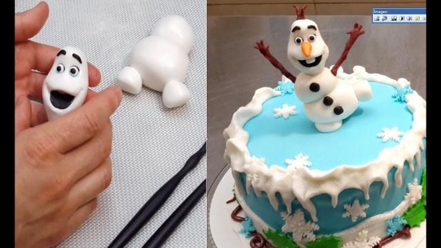 Frozen Birthday Cake Ideas Olaf Frozen Cake How To Make Cakes Stepstep Youtube