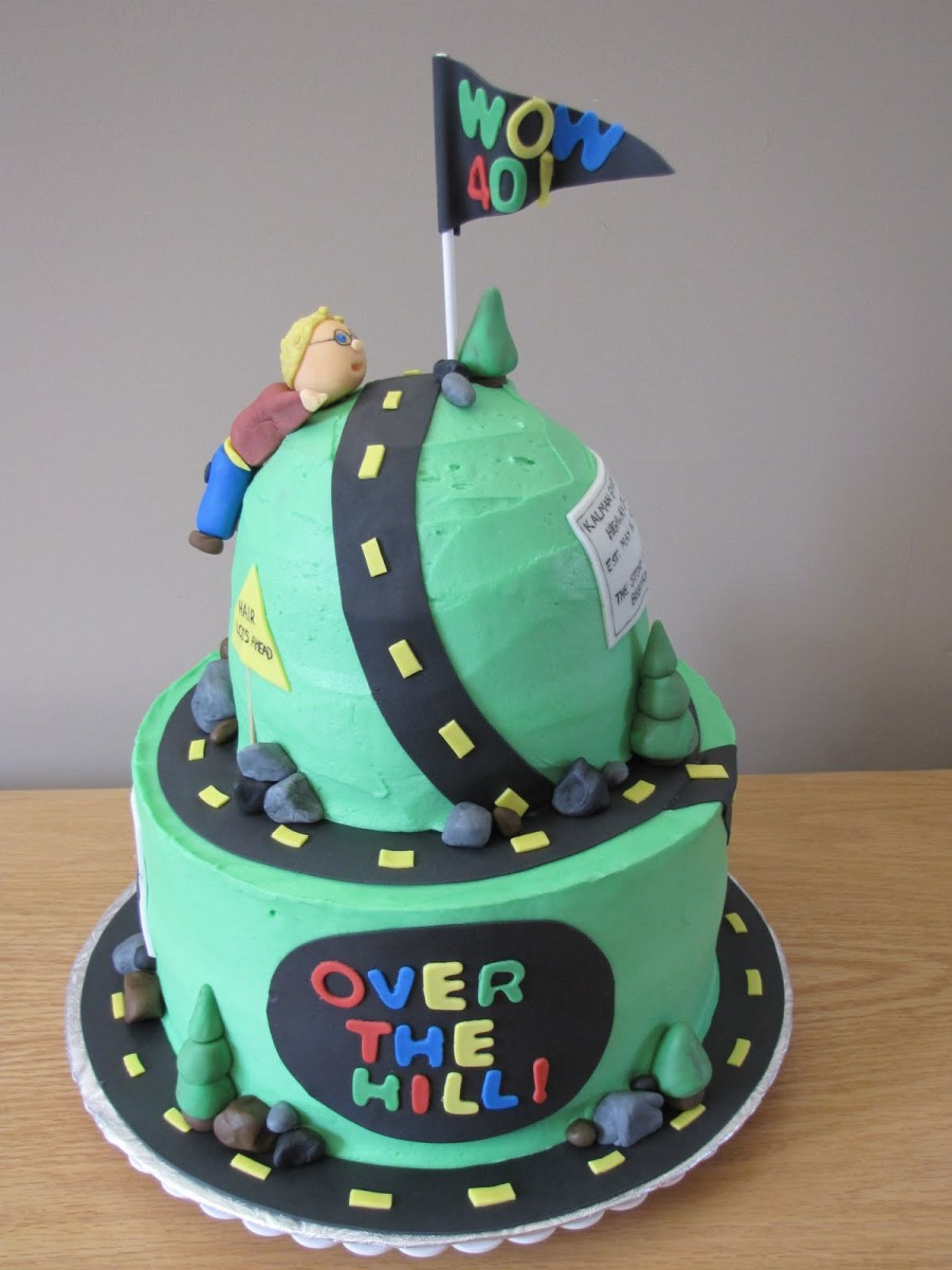 Phenomenal Funny Birthday Cakes For Adults Over The Hill Cakes Decoration Funny Birthday Cards Online Aeocydamsfinfo