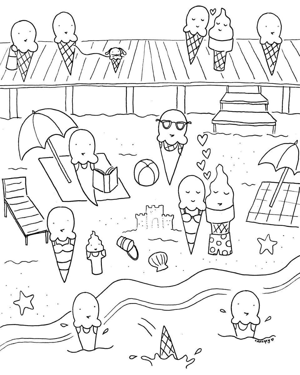 Funny Coloring Pages For Adults Fun Coloring Pages For ...