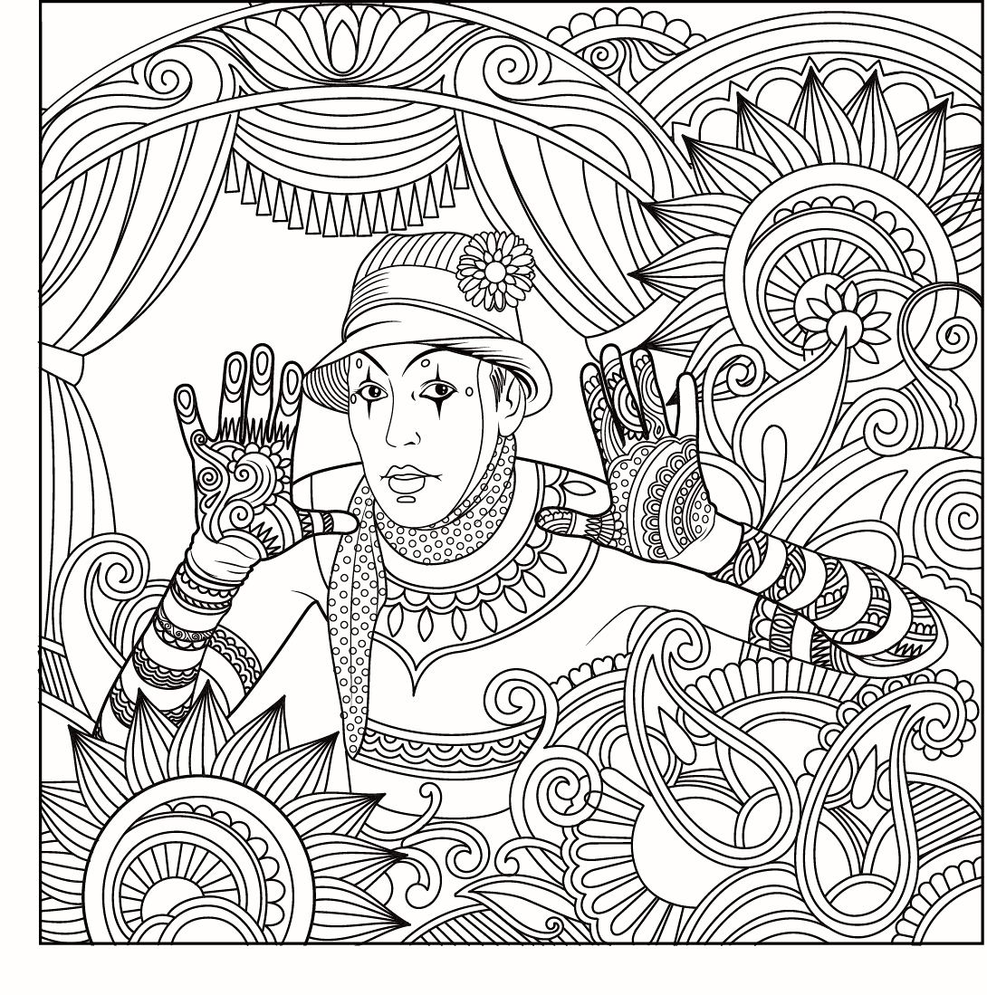 Funny Coloring Pages For Adults Funny Adult Coloring Pages ...