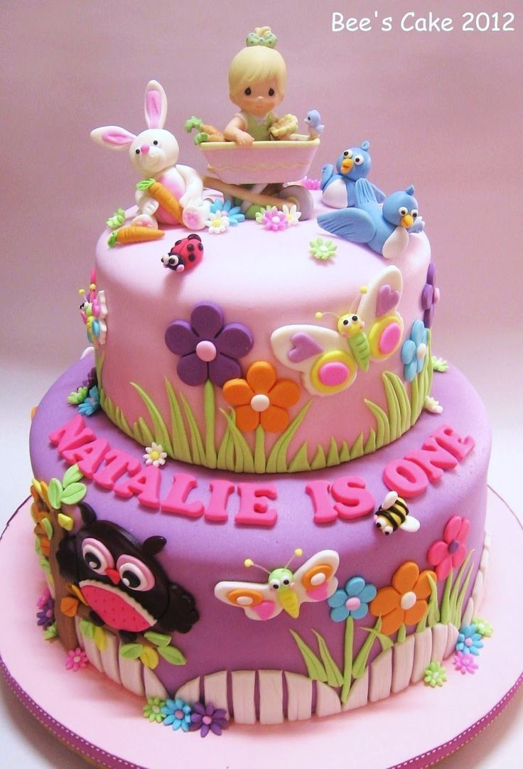 Wondrous 30 Beautiful Picture Of Girl Birthday Cake Birijus Com Funny Birthday Cards Online Overcheapnameinfo