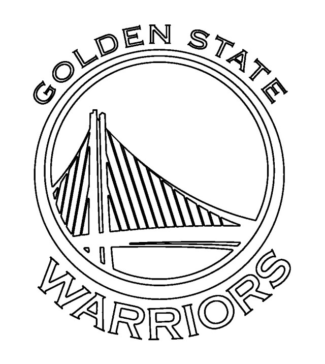 Golden State Warriors Coloring Pages Inspirational Golden State Warriors Coloring Page Coloring Pages
