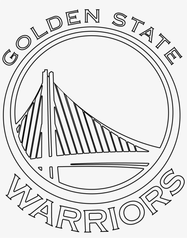 Golden State Warriors Coloring Pages Washington Redskins Logo Coloring Pages Golden State Warriors Logo