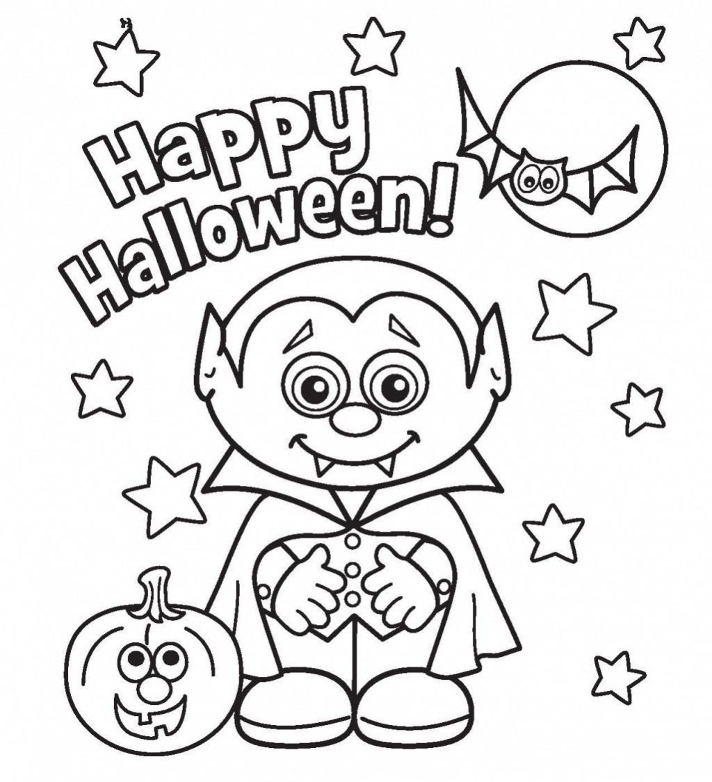 Halloween Coloring Pages Pdf Coloring Page Kids Halloween ...