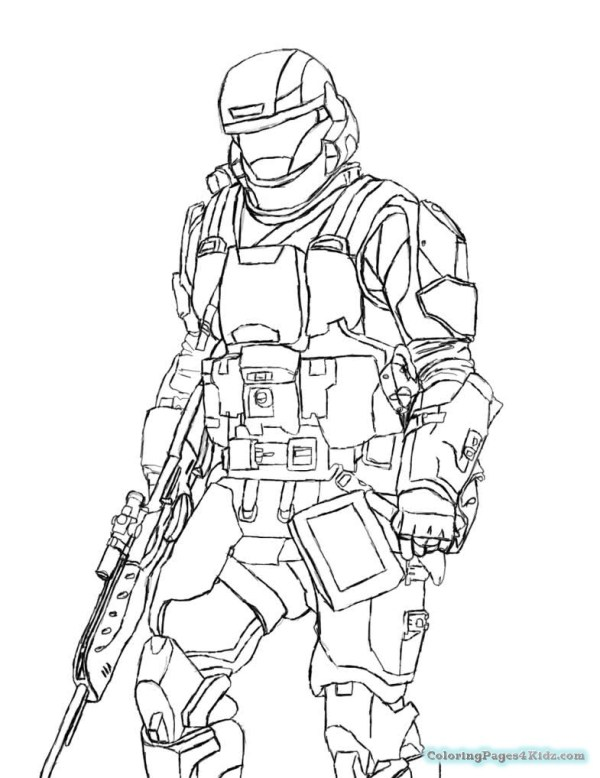 coloring pages halo # 56