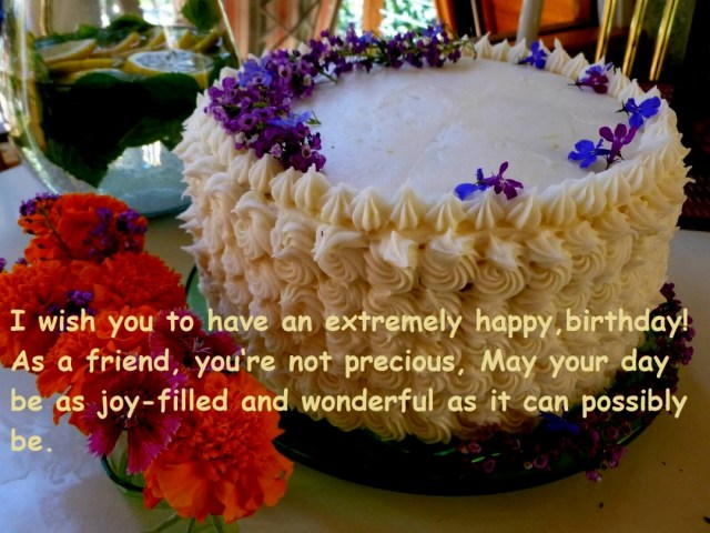 Happy Birthday Cake And Flowers Birthday Cake Wishes Happy With Flowers Best