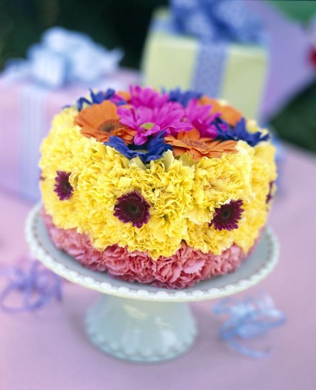 Happy Birthday Cake And Flowers Happy Birthday Michelle I Baked You A Birthday Cake Flower