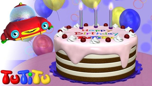 Happy Birthday Cake Pics Tutitu Toys Happy Birthday Cake Youtube