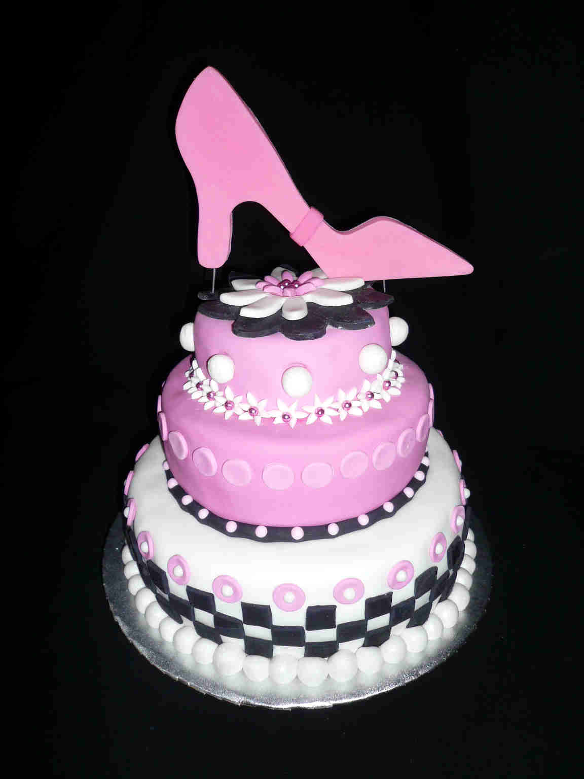 Awesome Happy Birthday Shoe Cake 12 Special Birthday Cakes With Shoes Personalised Birthday Cards Petedlily Jamesorg