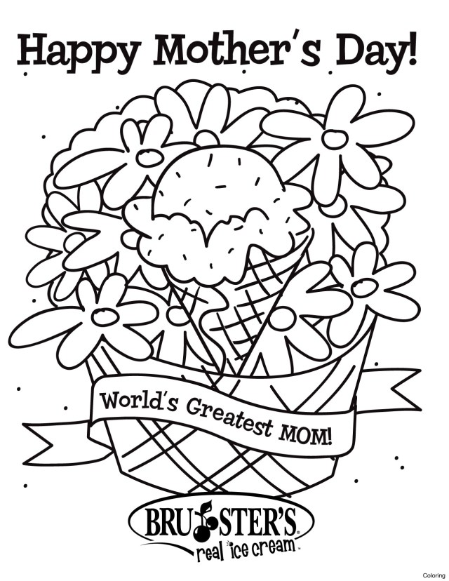 Happy Mothers Day Coloring Pages Happy Mothers Day Coloring Pages At Getdrawings Free For