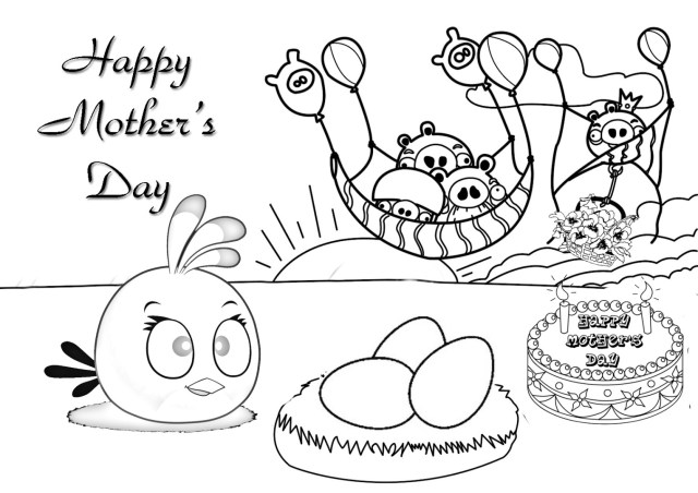 Happy Mothers Day Coloring Pages Happy Mothers Day Coloring Pages Download And Print For Free