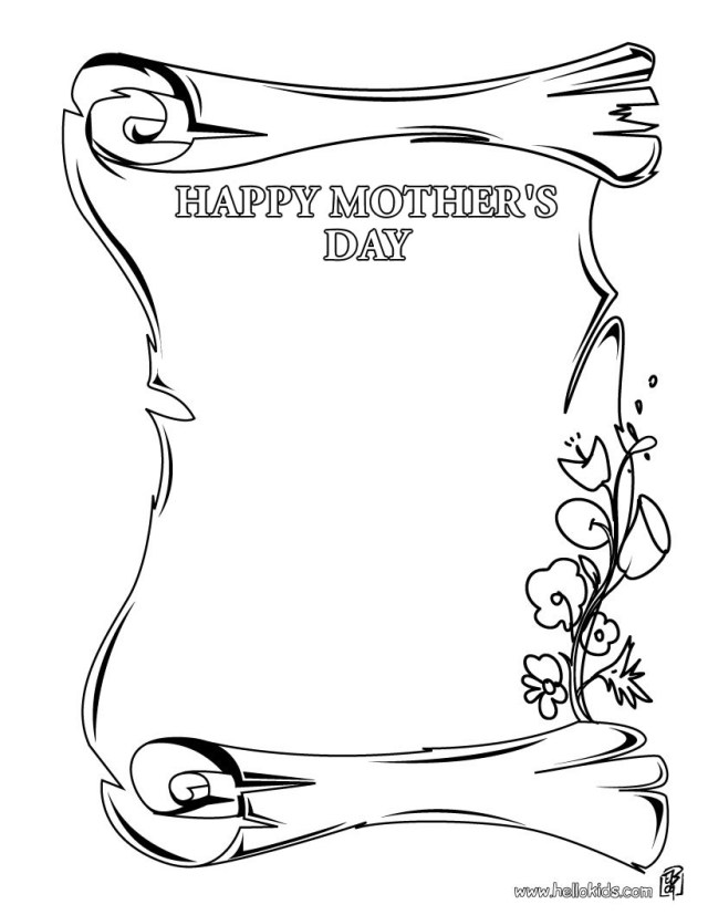 Happy Mothers Day Coloring Pages Mothers Day Coloring Pages 37 Free Printables To Color Online For Mom