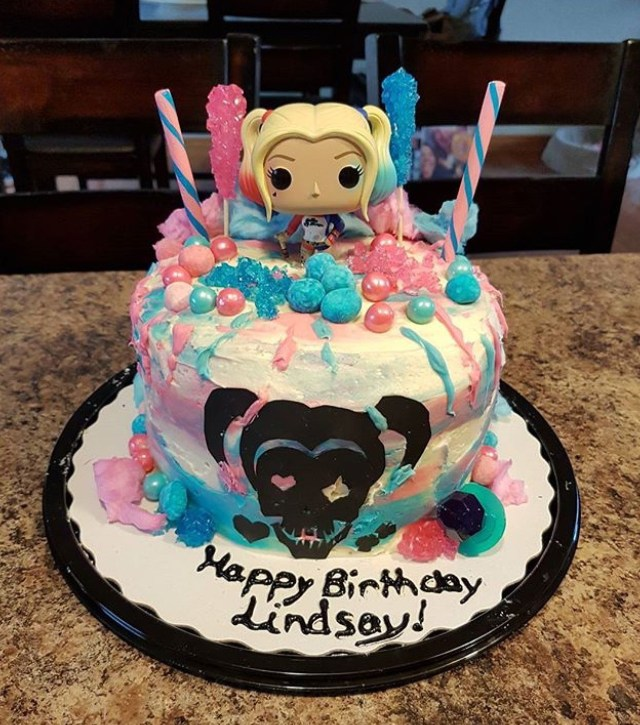 Harley Quinn Birthday Cake Harley Quinn Cake More Harley Becauee Shes Cool In 2019 Harley