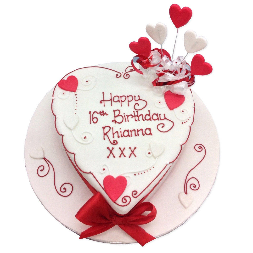 Phenomenal Heart Birthday Cake Birthday Cakes Delivered In London Birijus Com Funny Birthday Cards Online Alyptdamsfinfo