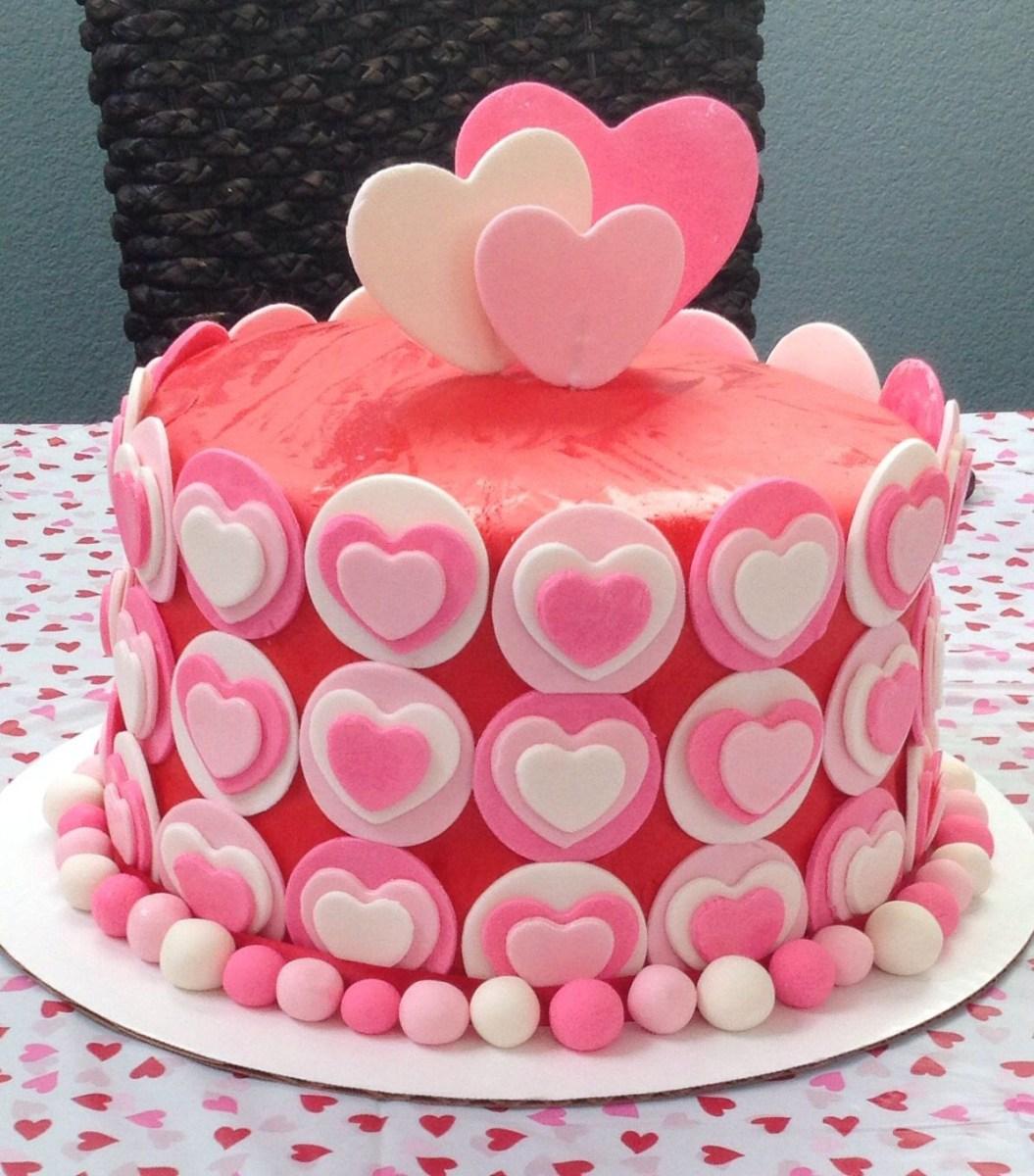 Peachy Heart Birthday Cake Heart Birthday Cake My Amazing Cakes In 2018 Personalised Birthday Cards Akebfashionlily Jamesorg