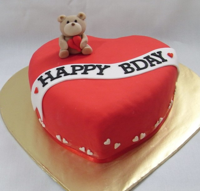 Heart Birthday Cake Heart Birthday Cakes