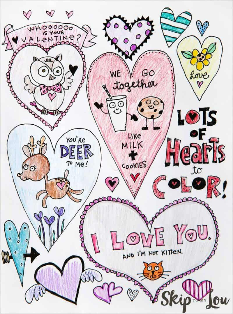 Heart Coloring Pages For Adults Adorable Free Heart Coloring Pages Skip To My Lou