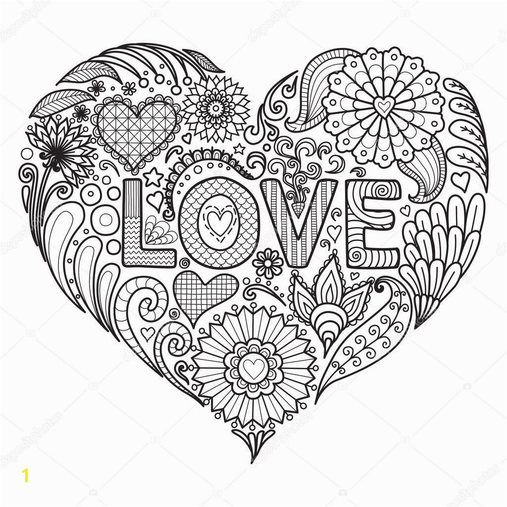 Heart Coloring Pages For Adults Best Coloring Pages For