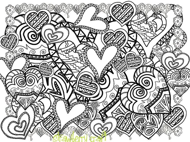 Heart Coloring Pages For Adults Coloring Page Adult Coloring Pages Dr Odd Excelent Free Printable