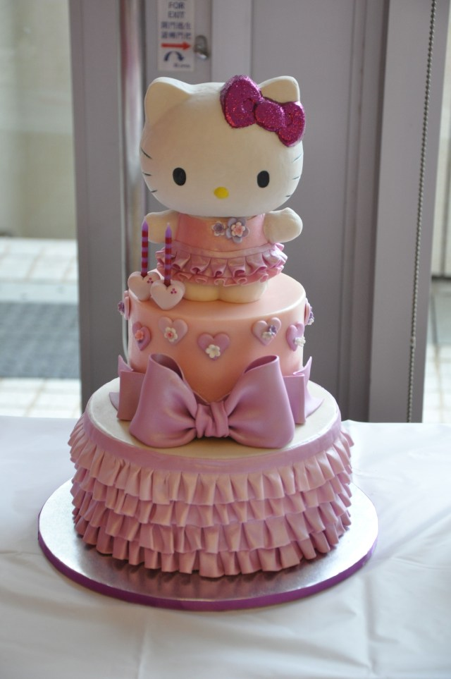 Hello Kitty Birthday Cakes Birthday Cake Photos Hello Kitty Cake Hello Kitty Pinterest