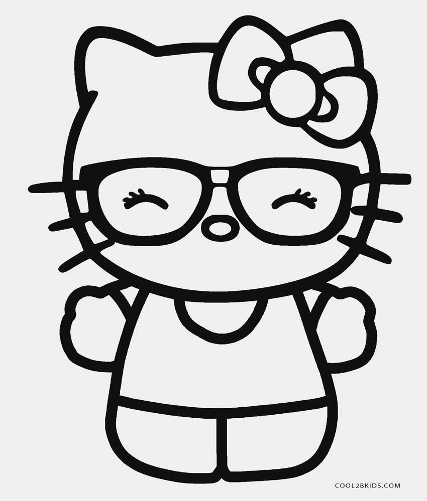 Hello Kitty Coloring Printable