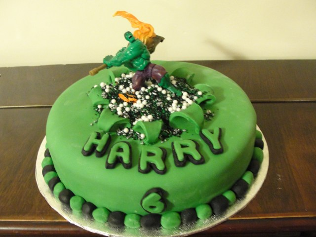 Hulk Birthday Cakes Incredible Hulk Birthday Cake Anges Cakes Peterborough Flickr
