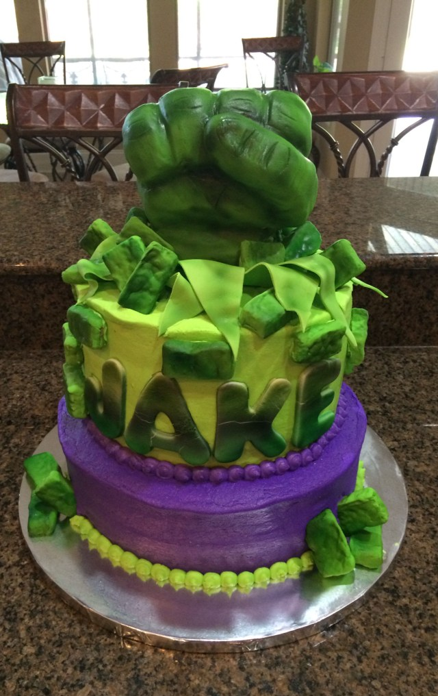 Hulk Birthday Cakes Incredible Hulk Cake Cakes Shelley Pinterest Hulk Birthday