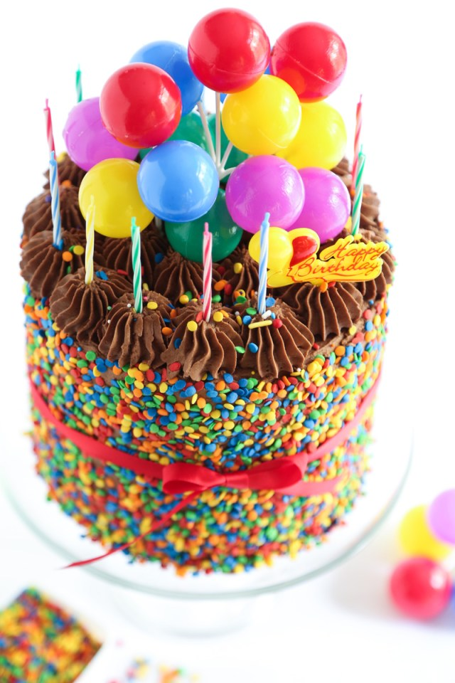 Images Of Happy Birthday Cakes The Birthday Cake Sprinkle Bakes