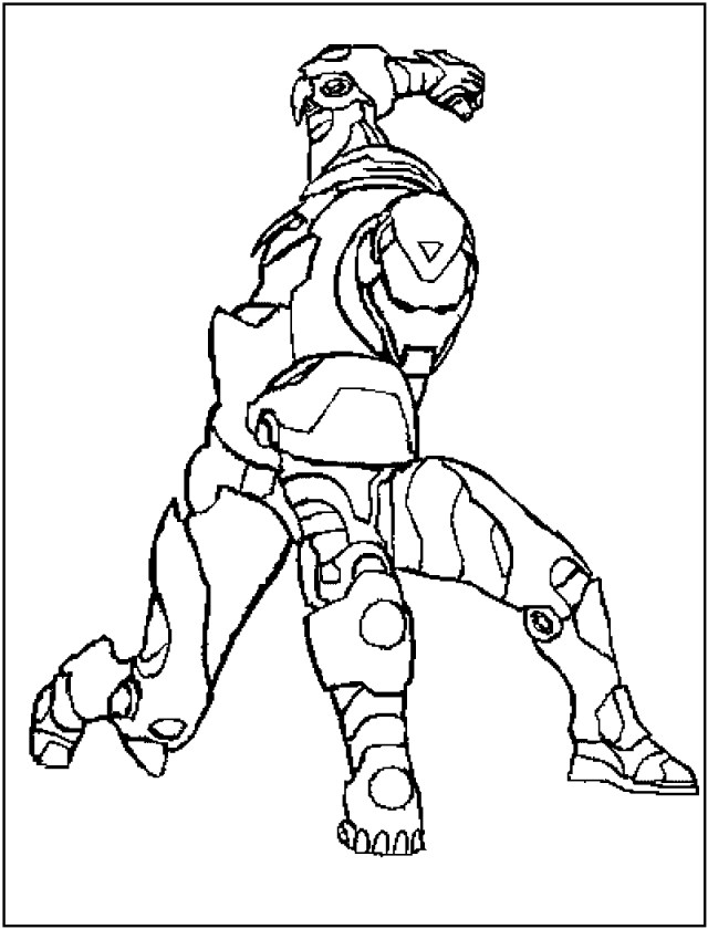 Ironman Coloring Pages Free Printable Iron Man Coloring Pages For Kids Best Coloring