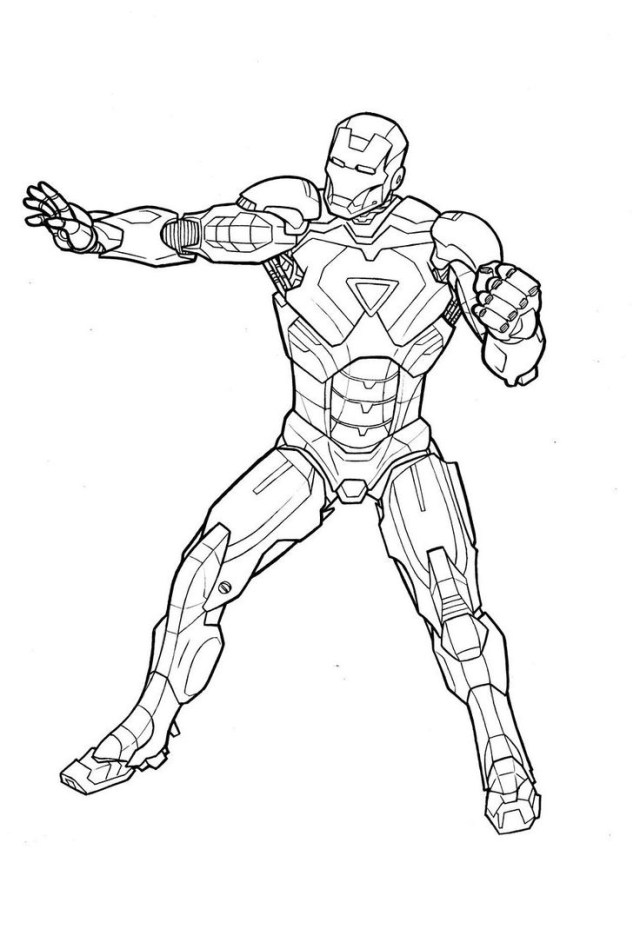 Ironman Coloring Pages Ironman Coloring Pages To Download And Print For Free