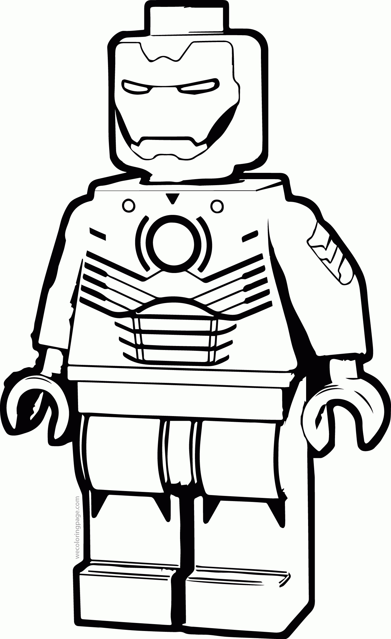 image relating to Lego Man Printable known as Ironman Coloring Web pages Lego Male Coloring Site Ironman