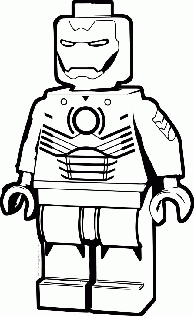 Ironman Coloring Pages Lego Man Coloring Page Ironman Coloring Page Printable Coloring Pages