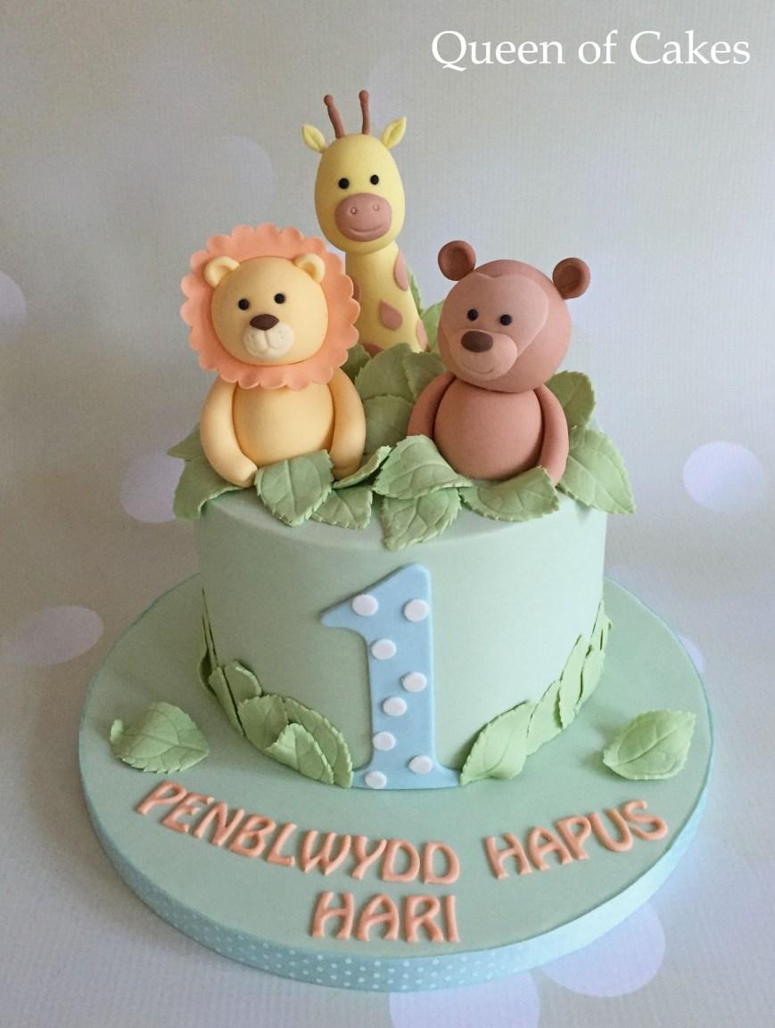 21 Exclusive Image Of Jungle Birthday Cake Birijus Com