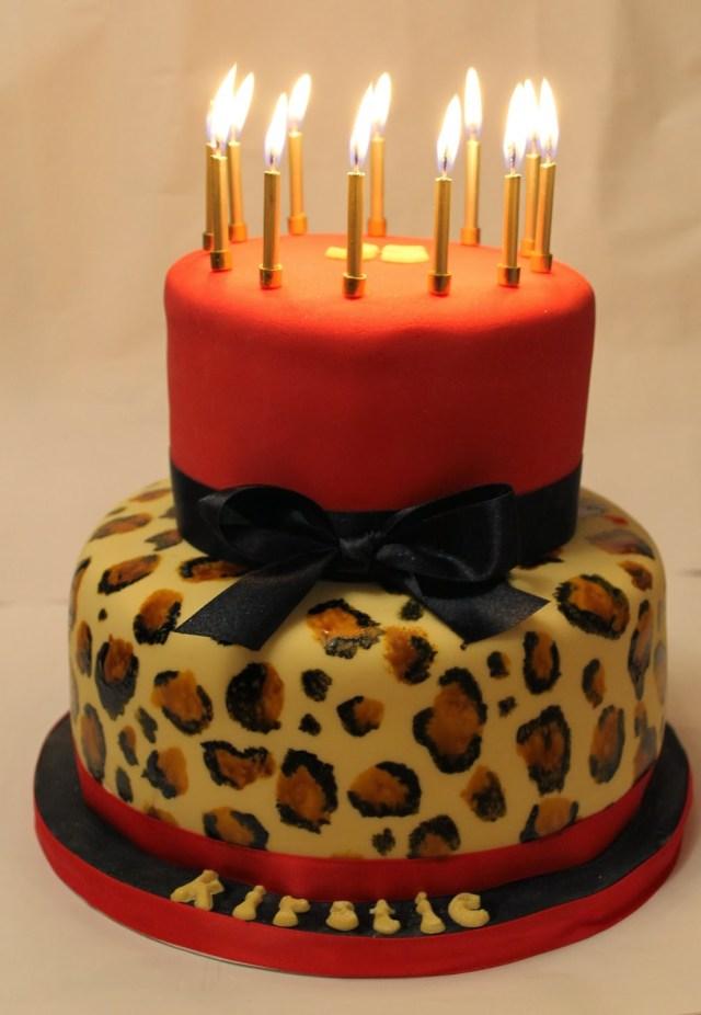 Super 21 Best Image Of Leopard Birthday Cake Birijus Com Funny Birthday Cards Online Benoljebrpdamsfinfo