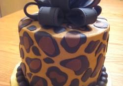 Leopard Birthday Cake Leopard Print Cake Beautiful Creative Cakes Pinterest Cake