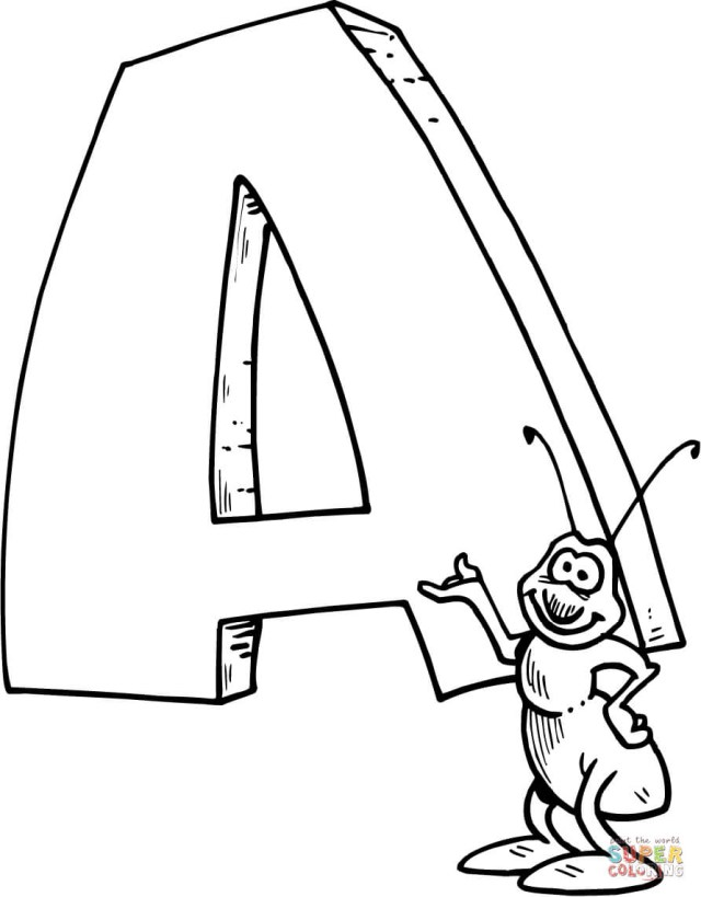 21 Amazing Image Of Letter A Coloring Pages Birijus Com