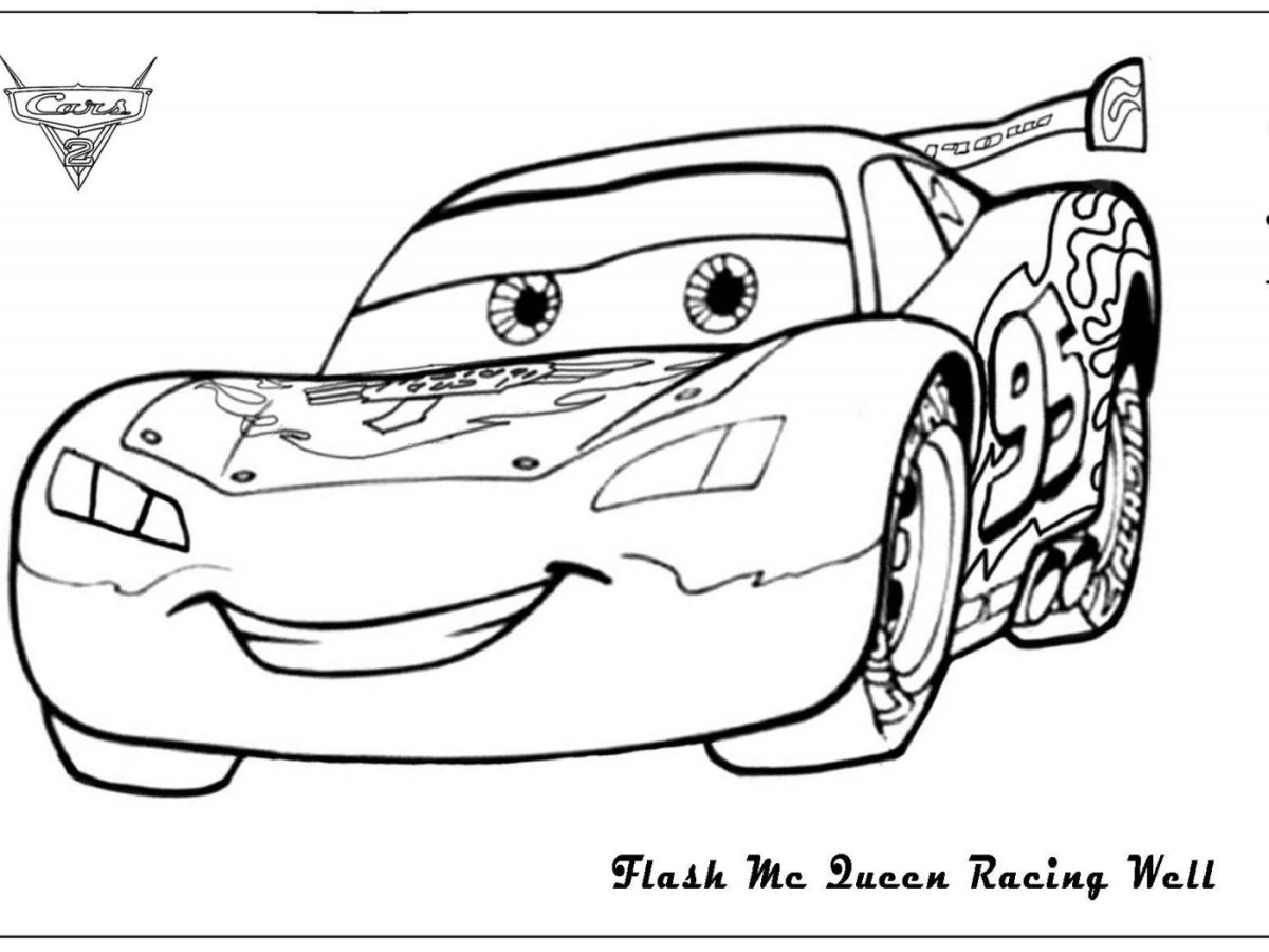 Lightning Mcqueen Coloring Page Lightning Mcqueen Coloring Pages And Sally From Cars Page Free Birijus Com
