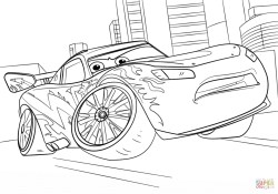 Lightning Mcqueen Coloring Page Lightning Mcqueen From Cars 3 Coloring Page Free Printable